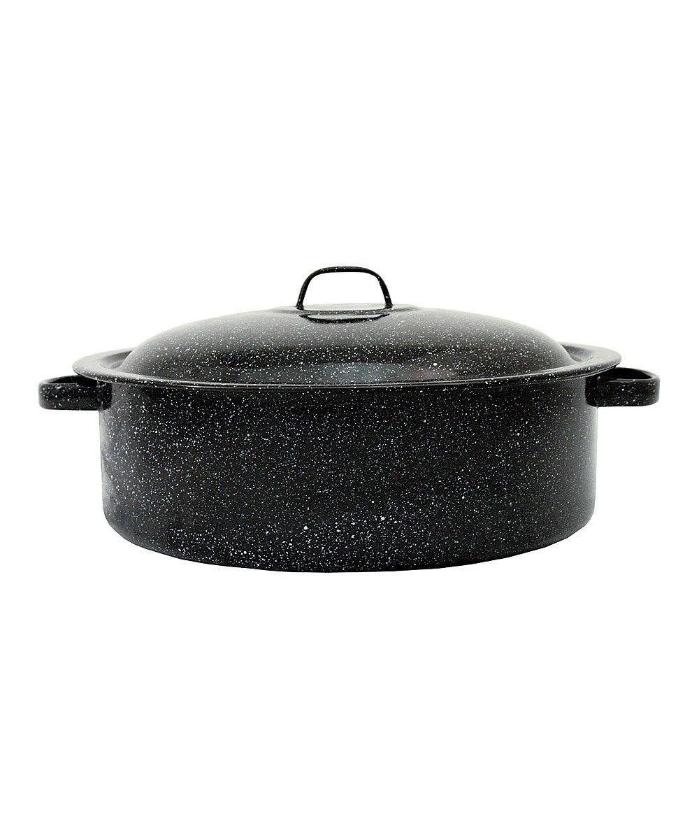 Black 5-Qt. Covered Casserole Dish