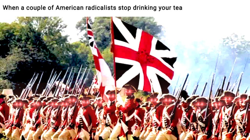 British Grenadiers Earrape Historymemes History Memes British Stop Drinking