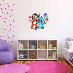 Lilo Stitch Wall Decals Cool Stuff To Buy And Collect Habitaciones Para Ninos Pequenos Hello Kitty Imagenes Dormitorio Kawaii