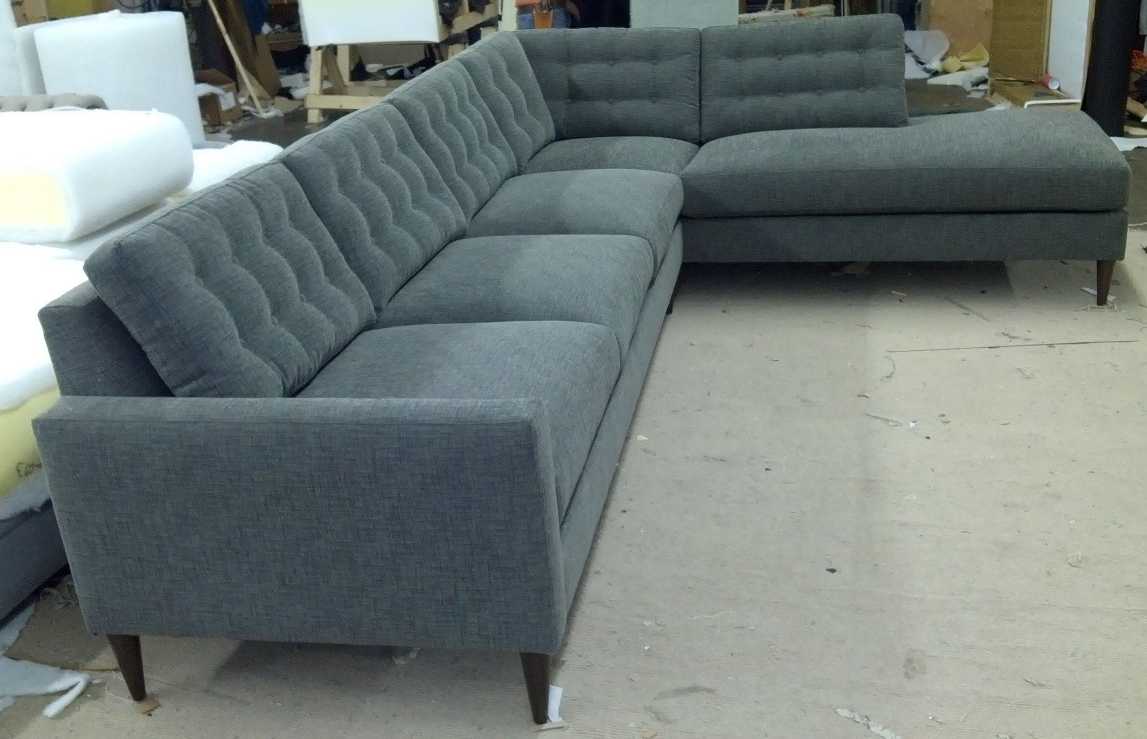 Hana Sofa Bumper Chaise Sectional Every Style Can Be Customized In Virtually Any Way Possible Www Custom Sectional Sofa Modern Sofa Sectional Sofa Design