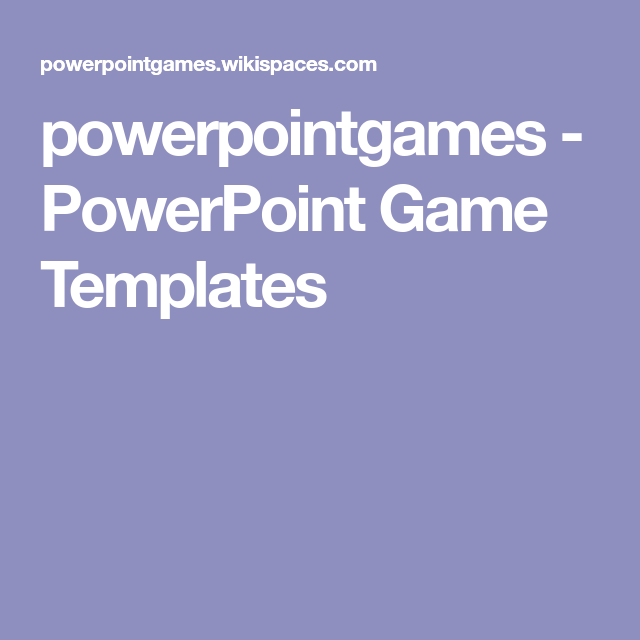 Powerpointgames Powerpoint Game Templates Maths Game Activity