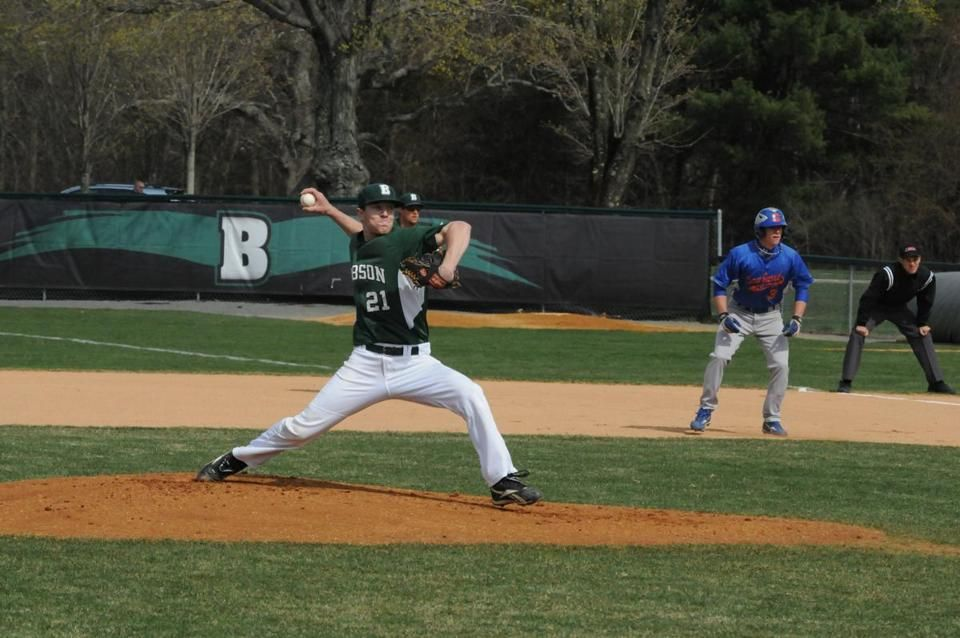 David Ahern, 28, Babson College's first baseball All