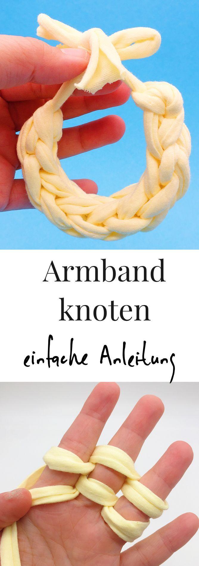 Armbänder selber machen   - DIY Ideen auf Deutsch -
