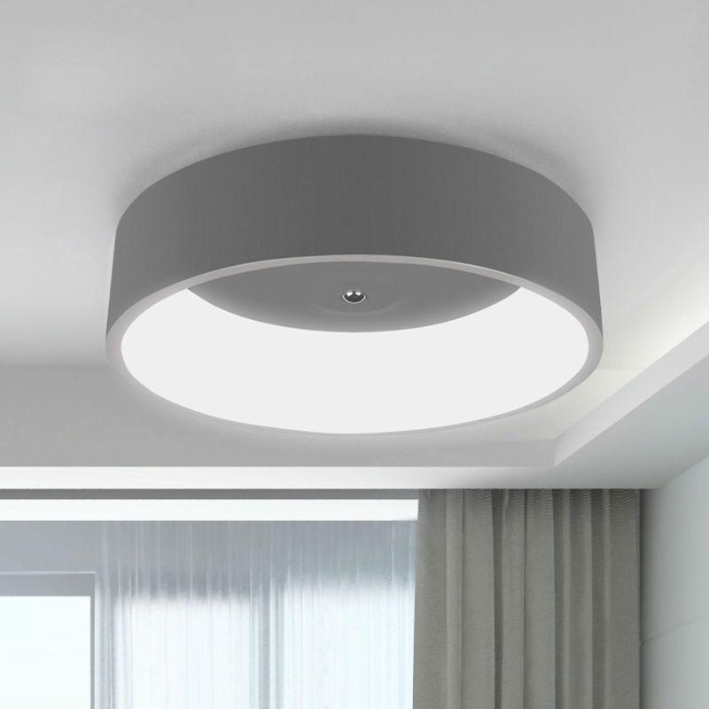Modern Led Ceiling Light For Living Room Bedroom Ring 450mm Aluminum Acryl High Brightness 27 Led Ceiling Lights Modern Led Ceiling Lights Living Room Lighting