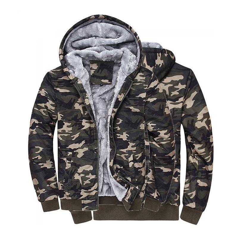 new style f50c8 95181 Aliexpress.com  Comprar Camuflaje Para Hombre chaquetas 2017 con Sombrero  100% Algodón de