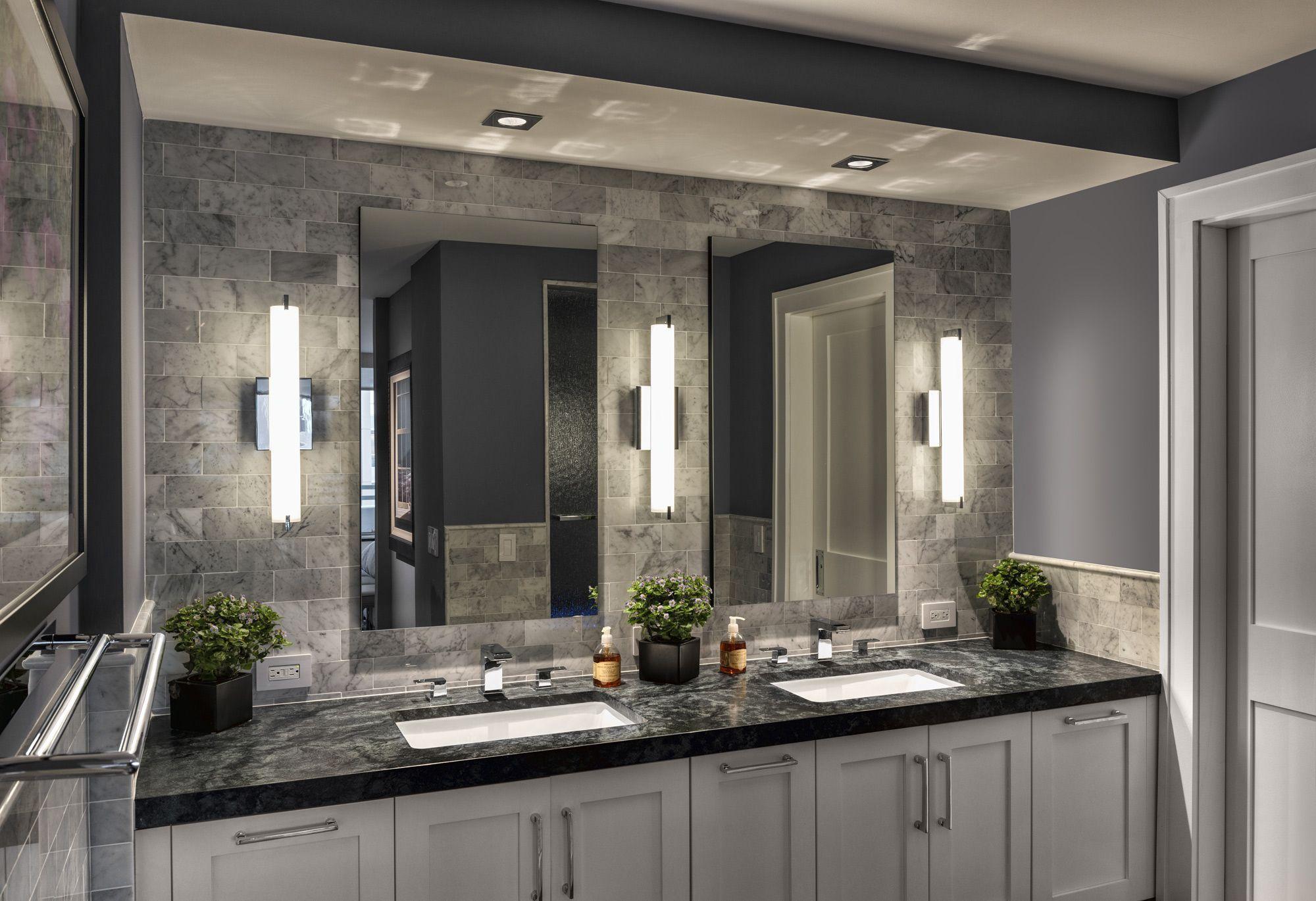 Tube Led Bath Bar George Kovacs At Lightology Bathroom Layout Bathroom Remodel Master Dream Bathrooms