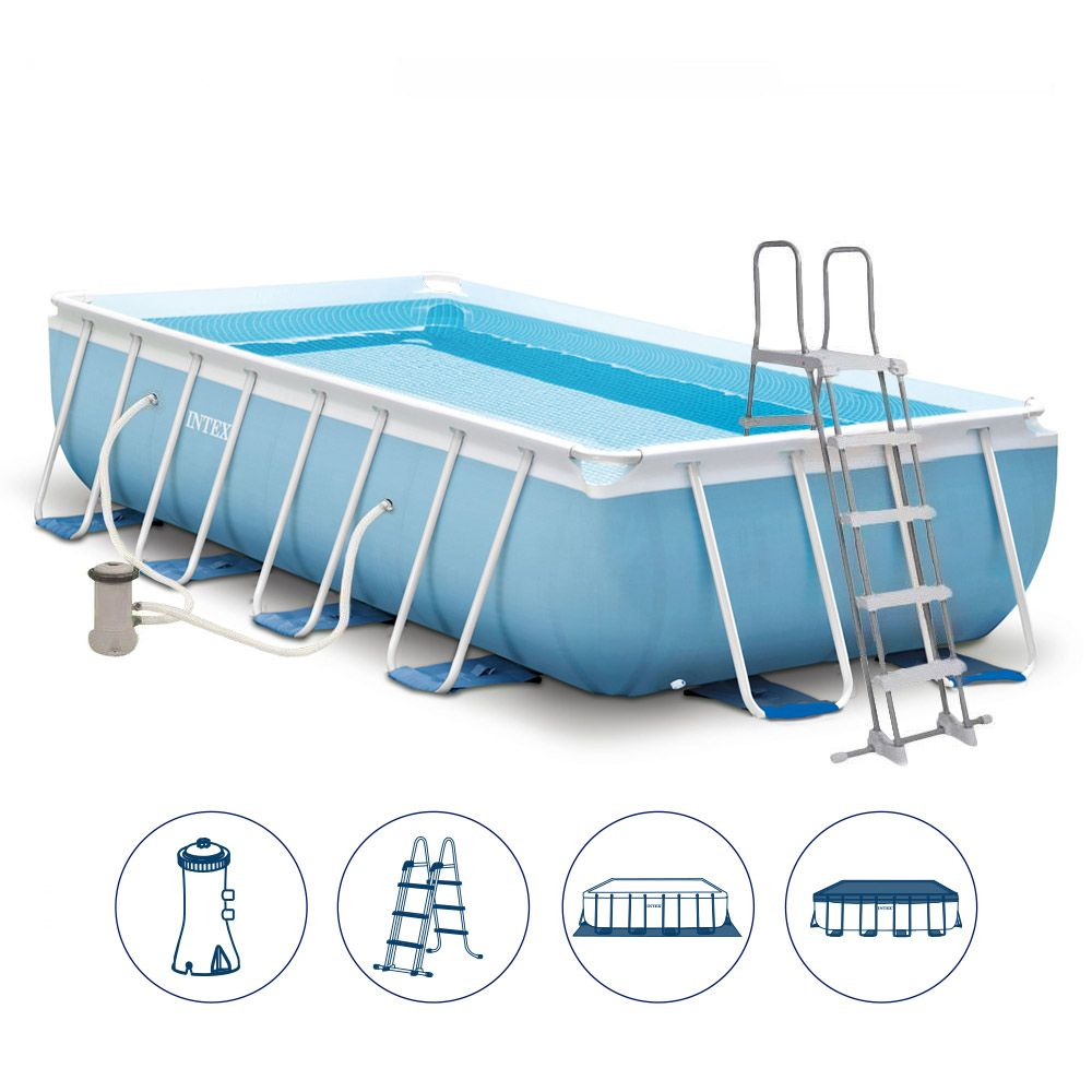 Zwembad Heater Intex Intex 26792 Ex 26778 Prism Frame Above Ground Pool Rectangular