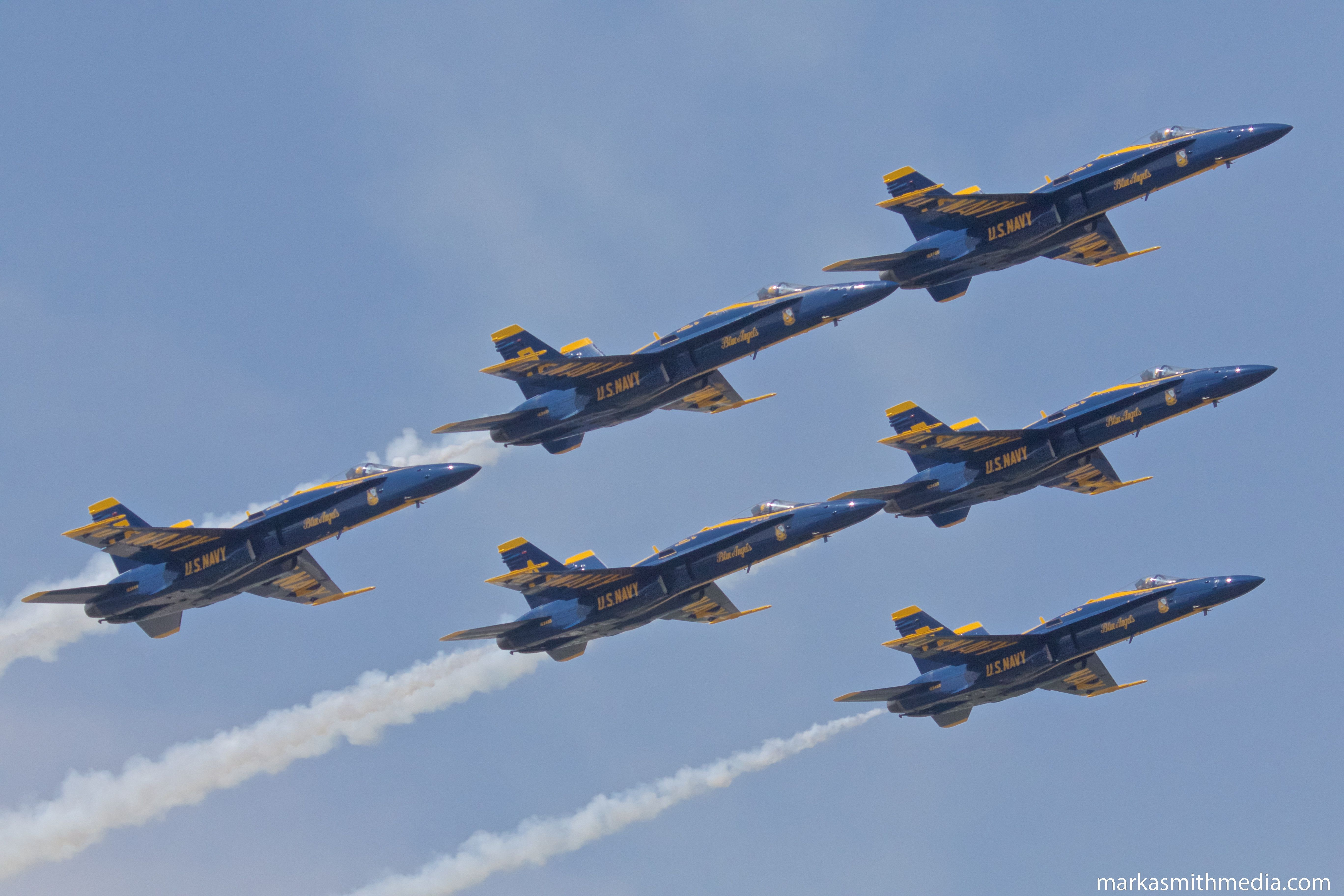 Blue Angels at NAS Patuxent River Airexpo 2018 Patuxent