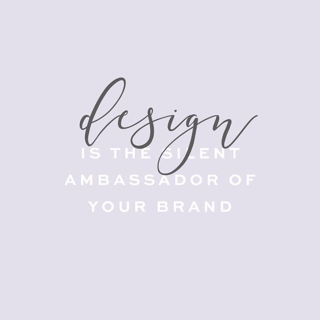Design is the silent ambassador of your brand color