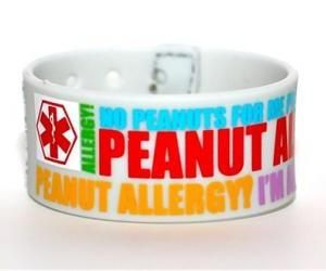 Egg Allergy Tree Nut Peanut Free Medical Alert Bracelets