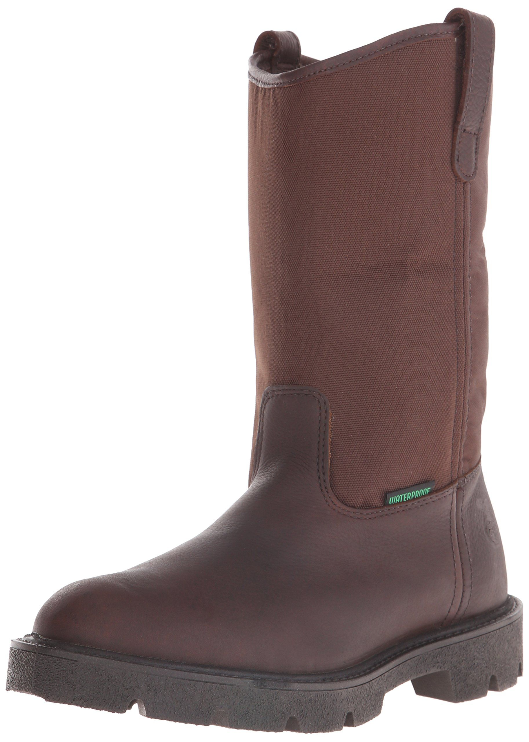 Georgia Mens Homeland Wellington M Pull On Work Boot Brown 10 M Us Click Image To Review More Details This Is An Af In 2020 Boots Pull On Work Boots Slip On Boots