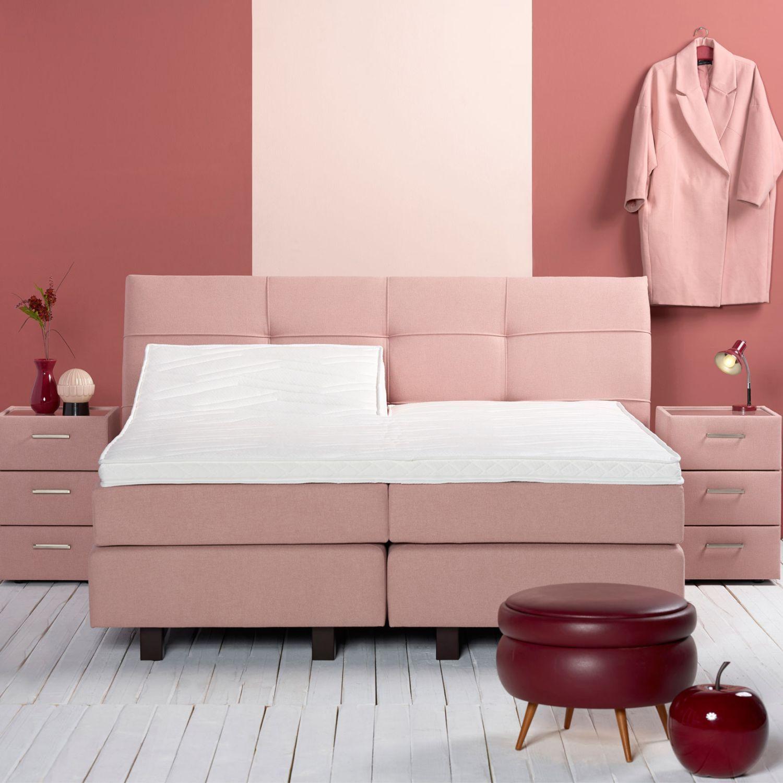 A Sleep Boxspring Scandinavisch elektrisch met gestoffeerde matrassen 140 160 180 x 200