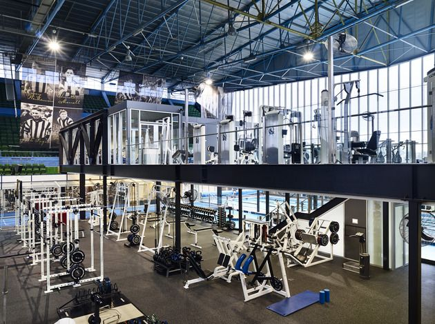Two Level Gym Google Search Gym Iron Basketball Court