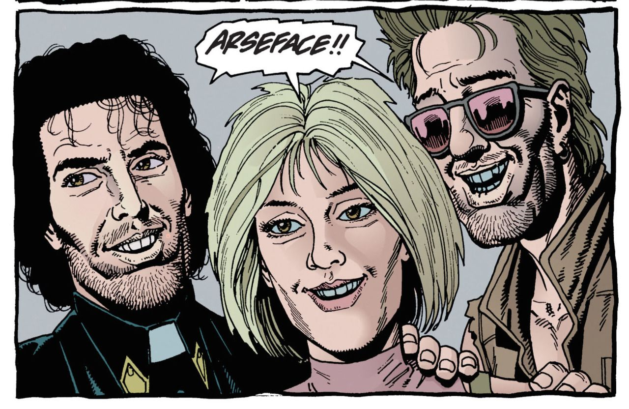 Image result for preacher comic