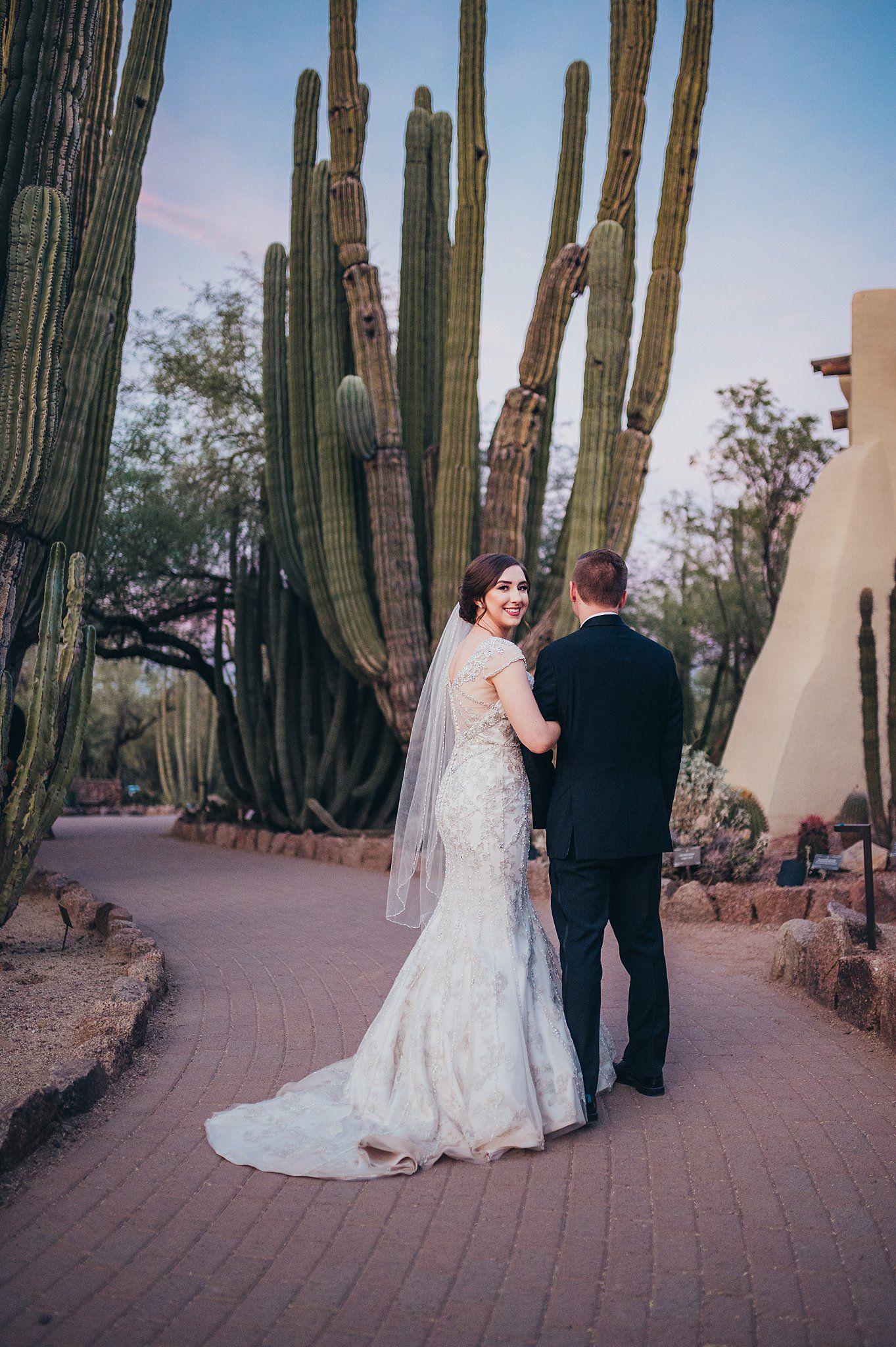 Desert Botanical Garden Wedding in 2020 Garden wedding