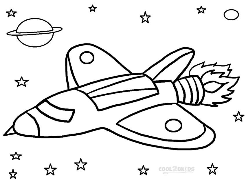 Hilaire image in rocket ship printable