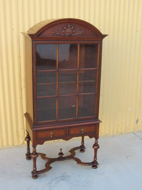 American Antique China Cabinet Display Cabinet Bookcase Antique Furniture