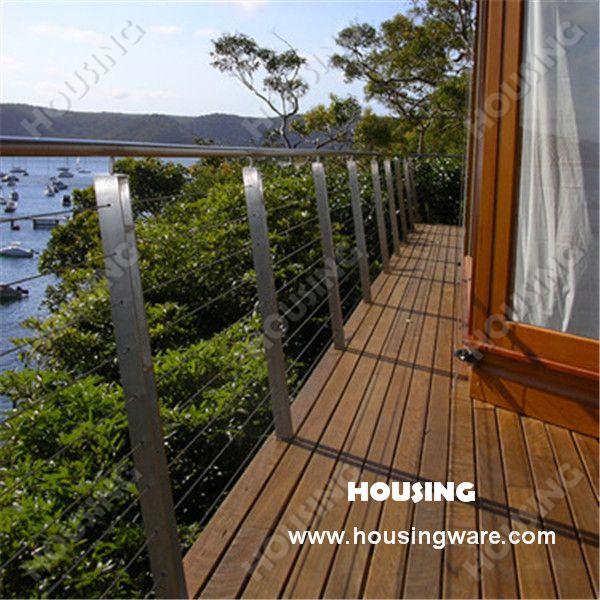 Luxury Wire Balcony Railing