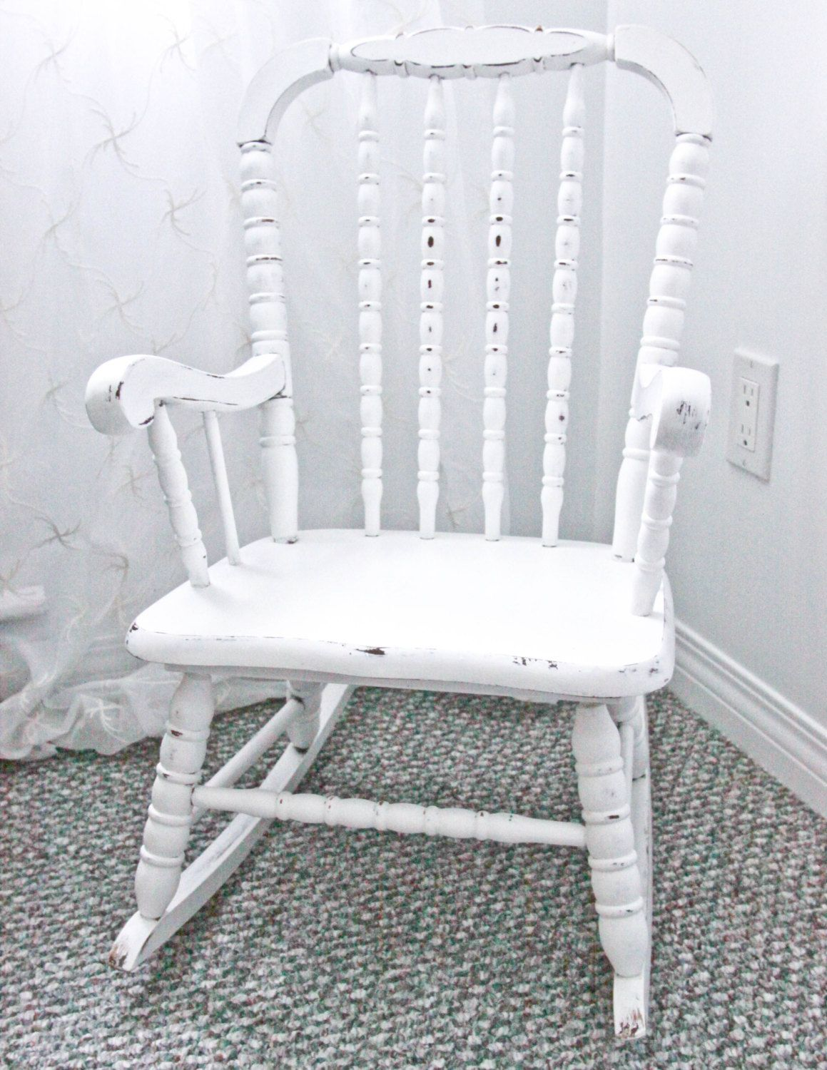 jenny lind rocking chair surefit covers child s by sweettreefurniture on etsy 75 00