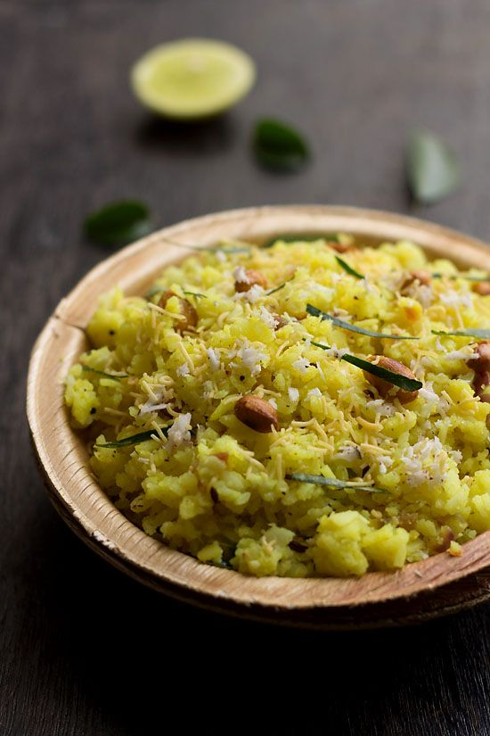kande pohe or poha is a most traditional and popular snack from maharashtra the best part of kande pohe recipe is you could eat them anytime of the day