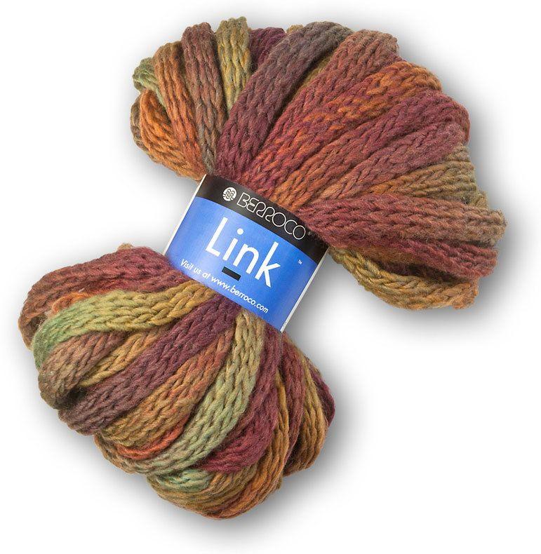 Berroco Link Super Bulky Yarn - Free Scarf Pattern on Label ...