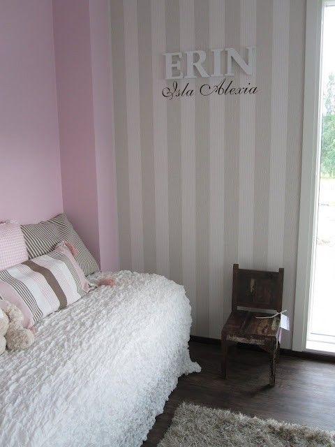 Tyylikäs tytön huone.