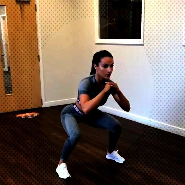 HIIT workout, do each for 1 minute (1) 360 degree jump squats (2) 3 S...#degreeTry this HIIT work