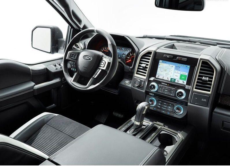 2017 Ford F 150 Raptor Interior Ford Pinterest