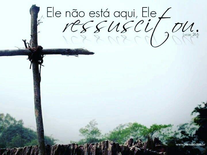 Bom Dia Religioso: Boa Páscoa Para Si, Sabendo Que A Cruz, A Ressurreição De