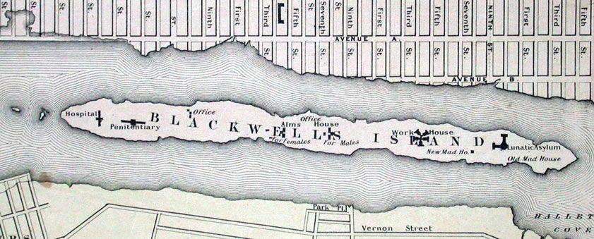 New York City Lunatic Asylum | BLACKWELL'S ISLAND | Asylum