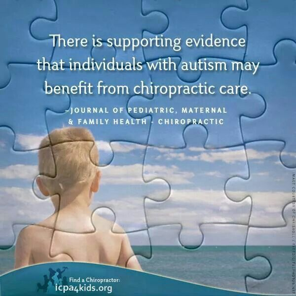 Supporting Evidence Autism