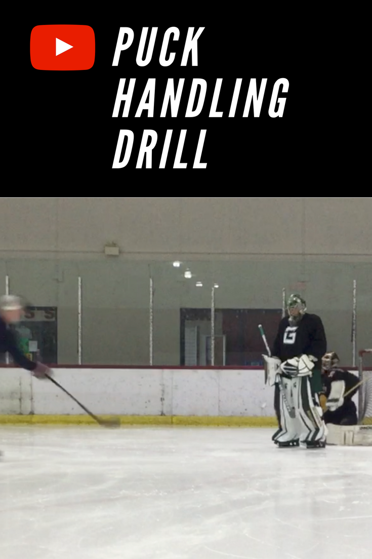 This Is A Simple Puckhandling Stickhandling Drill For Goalies At