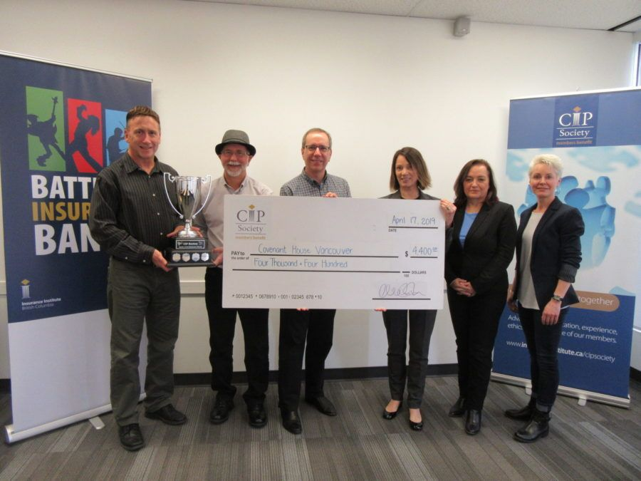 Sending Our Thanks To The Insurance Institute Of Bc Thankful
