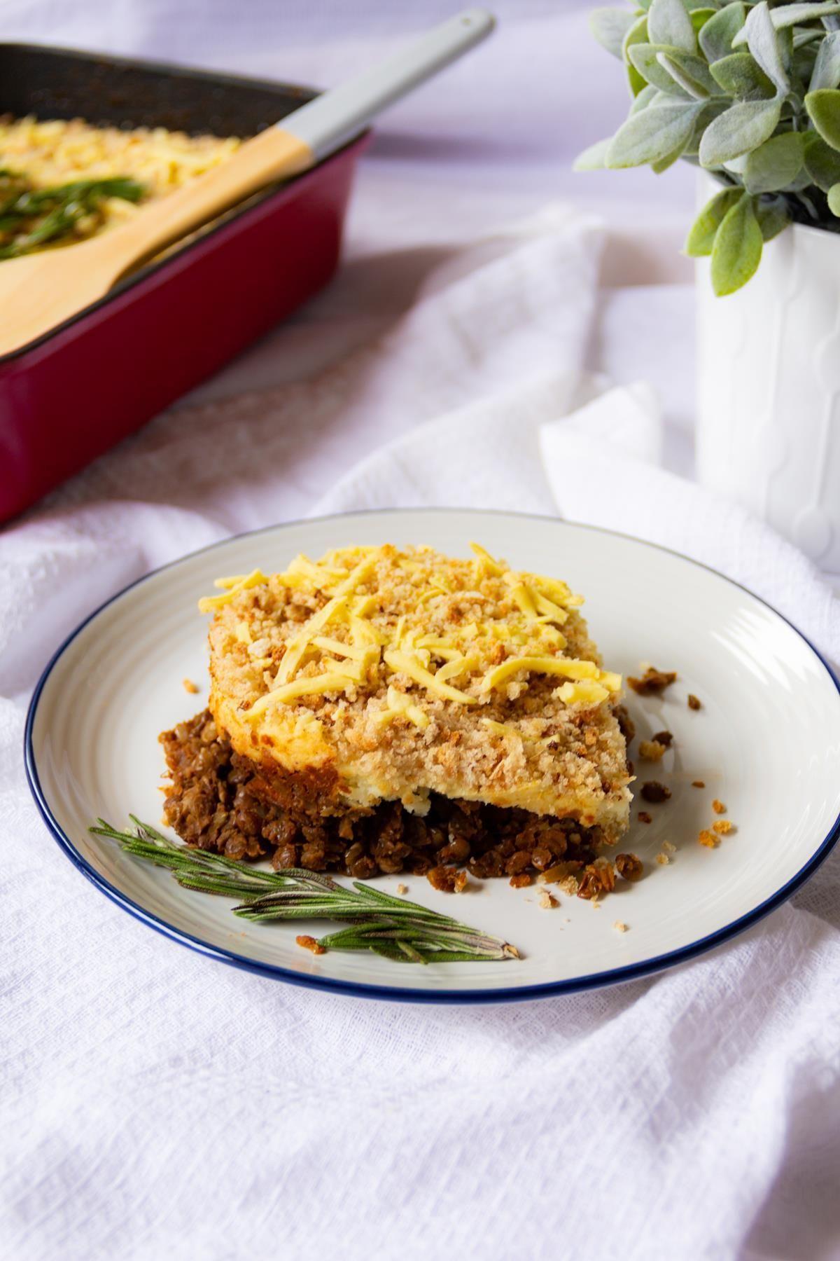 Vegan Cumberland Pie