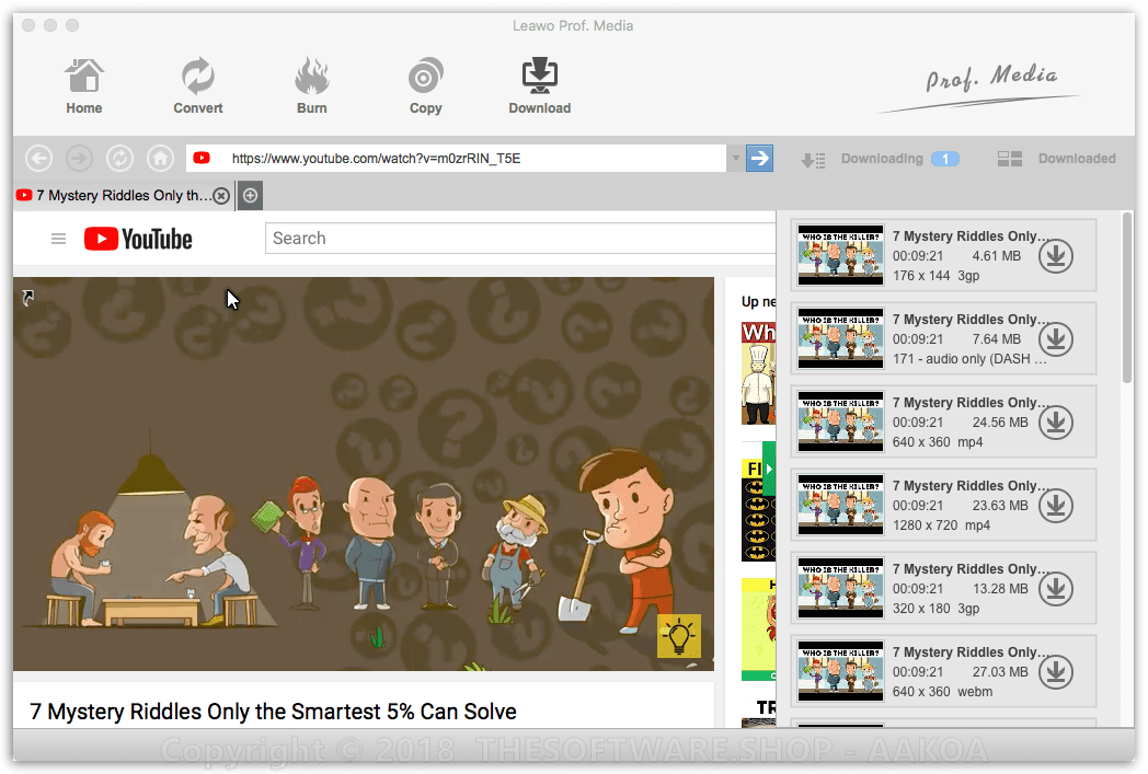 50 Off Coupon on Leawo YouTube Downloader Pro for Mac