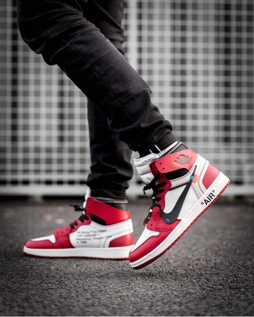 Pío Civil Final  ff White x Nike Air Jordan 1 📸 by @inmidoutsole #nike #air #jordan  #offwhite #highs…   Sneakers men fashion, Air jordans, Sneakers
