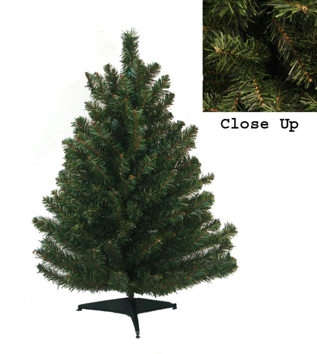 """18"""" Natural Two Tone Pine Artificial Christmas Tree Unlit in 2018"""