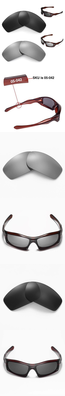 99fe560589 New Walleva Polarized Black+ Titanium Lenses For Oakley Monster Pup ...