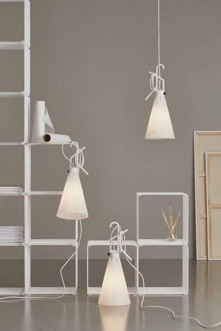 Flos Mayday White In 2019 Interior Styling