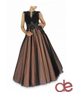 DE Amazing Black Gown