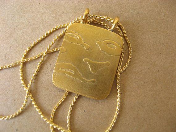 RUTKA Montrez-moi le ruisseau gold plated pendentifs par rutkapaz