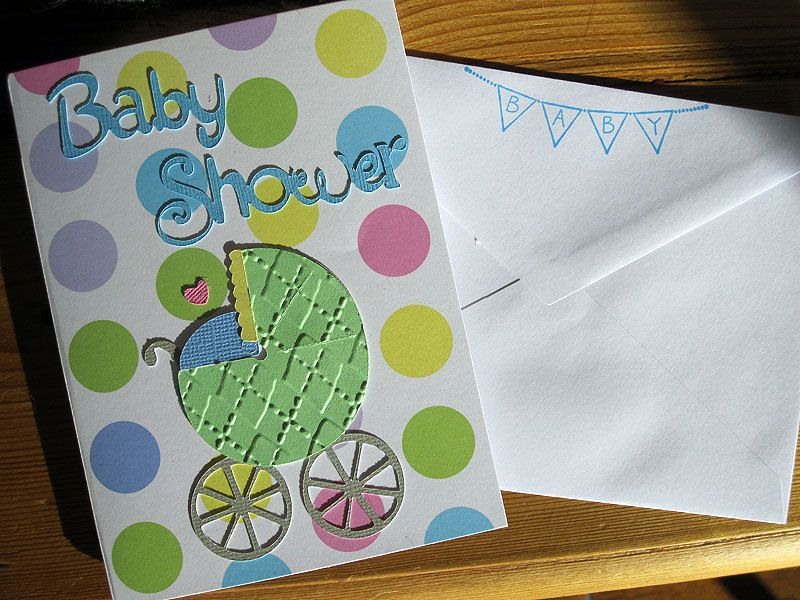 Create Your Own Baby Shower Invitation