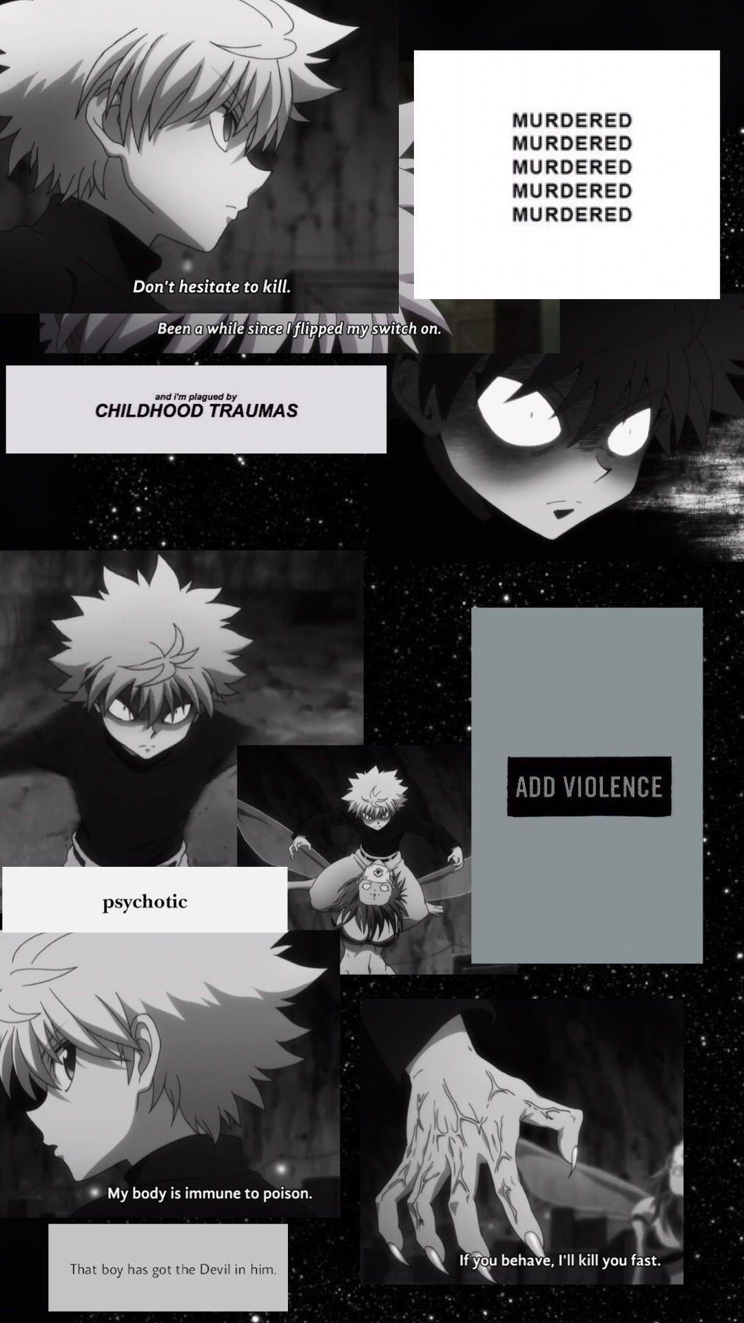 kullia zoldyck anime artwork wallpaper x