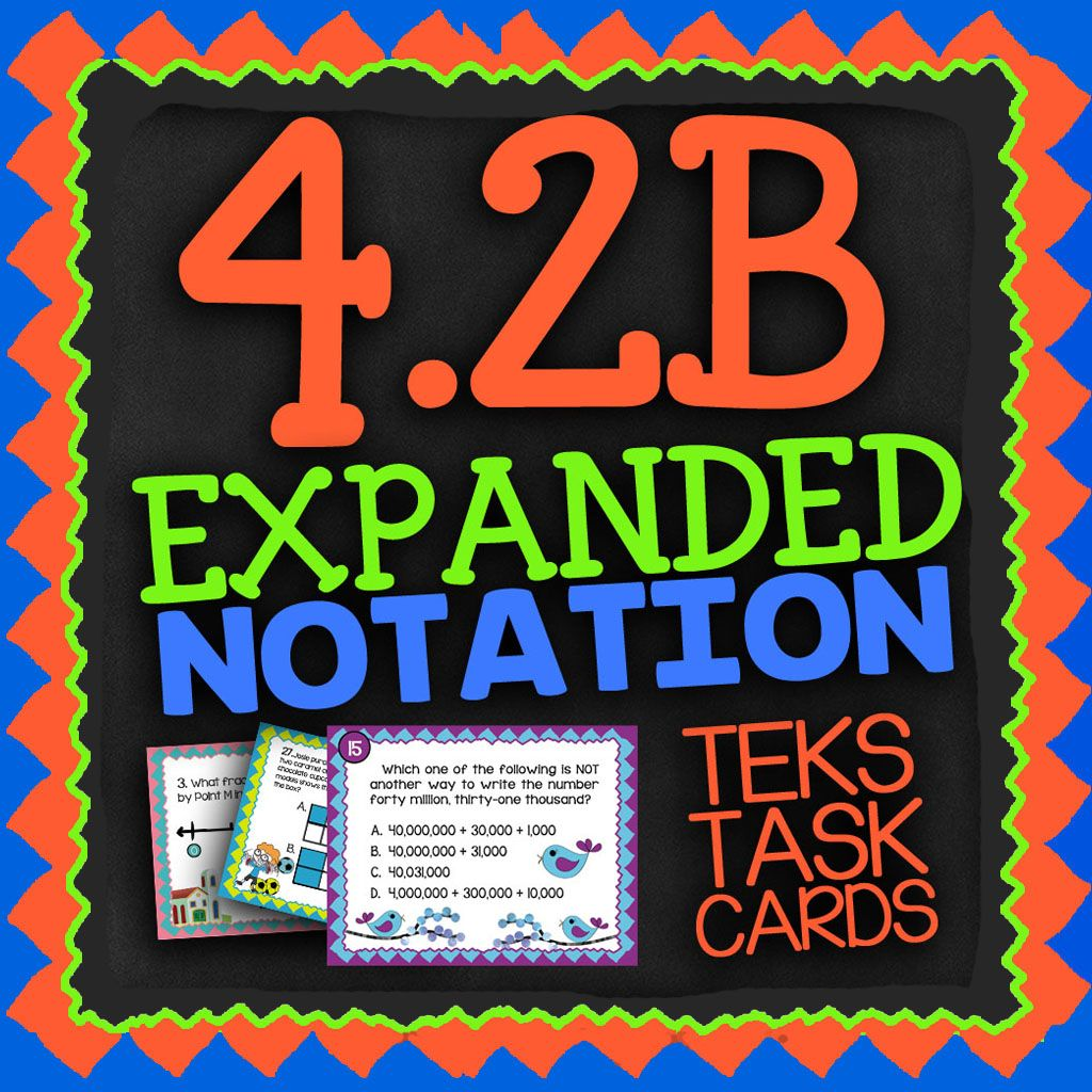 Pin On Teks Math Task Cards