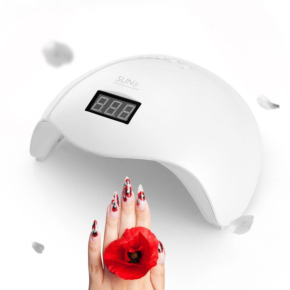 Nail Dryers UVLED SUN5X UV Light LED Lamp Nail Dryer 48W LED Nail ...