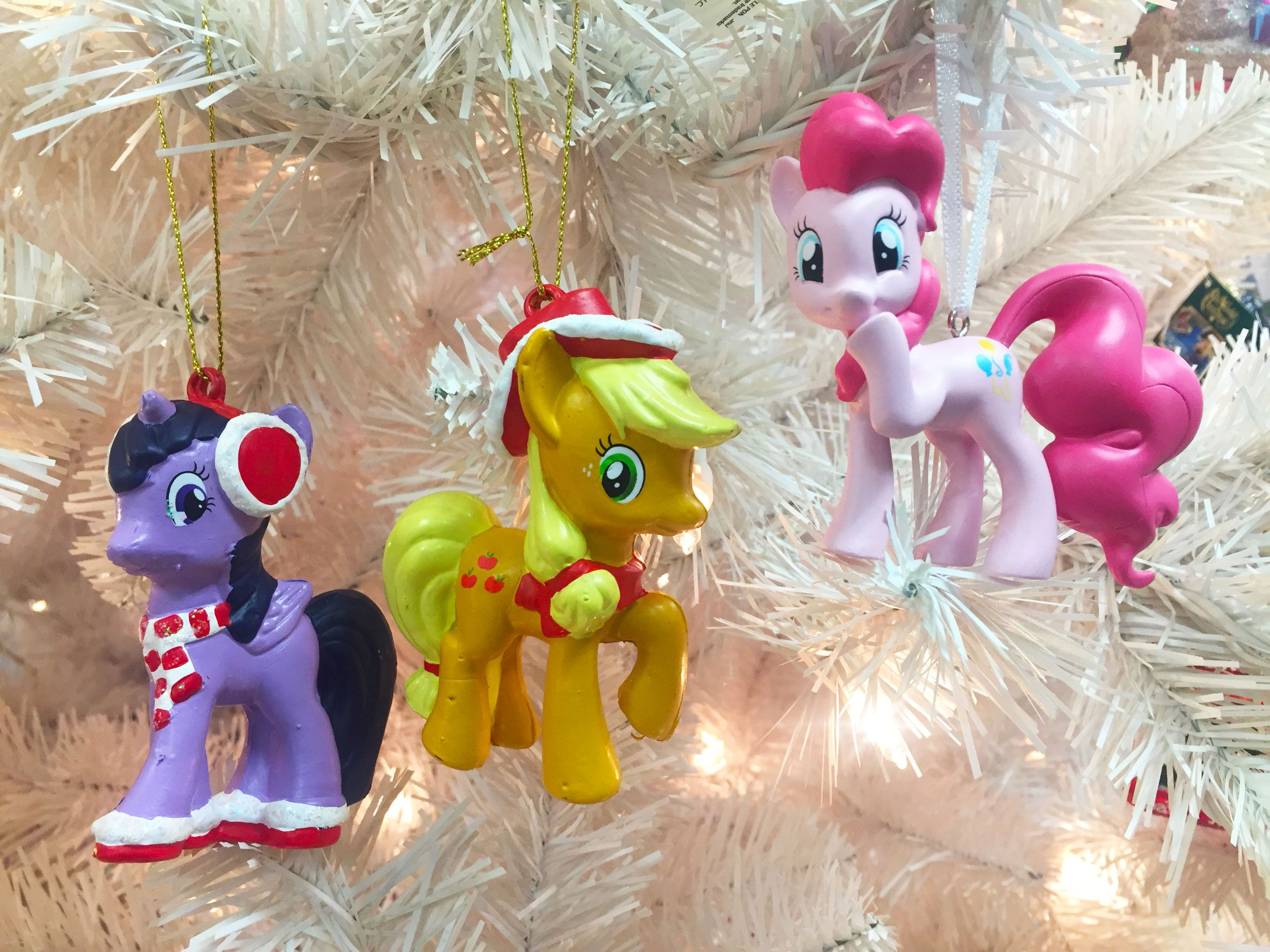 my little pony christmas ornaments