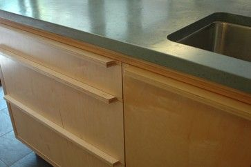 Mid Century Modern Eichler-esque Remodel Kitchen - kitchen - san francisco - Hart Wright Architects, AIA
