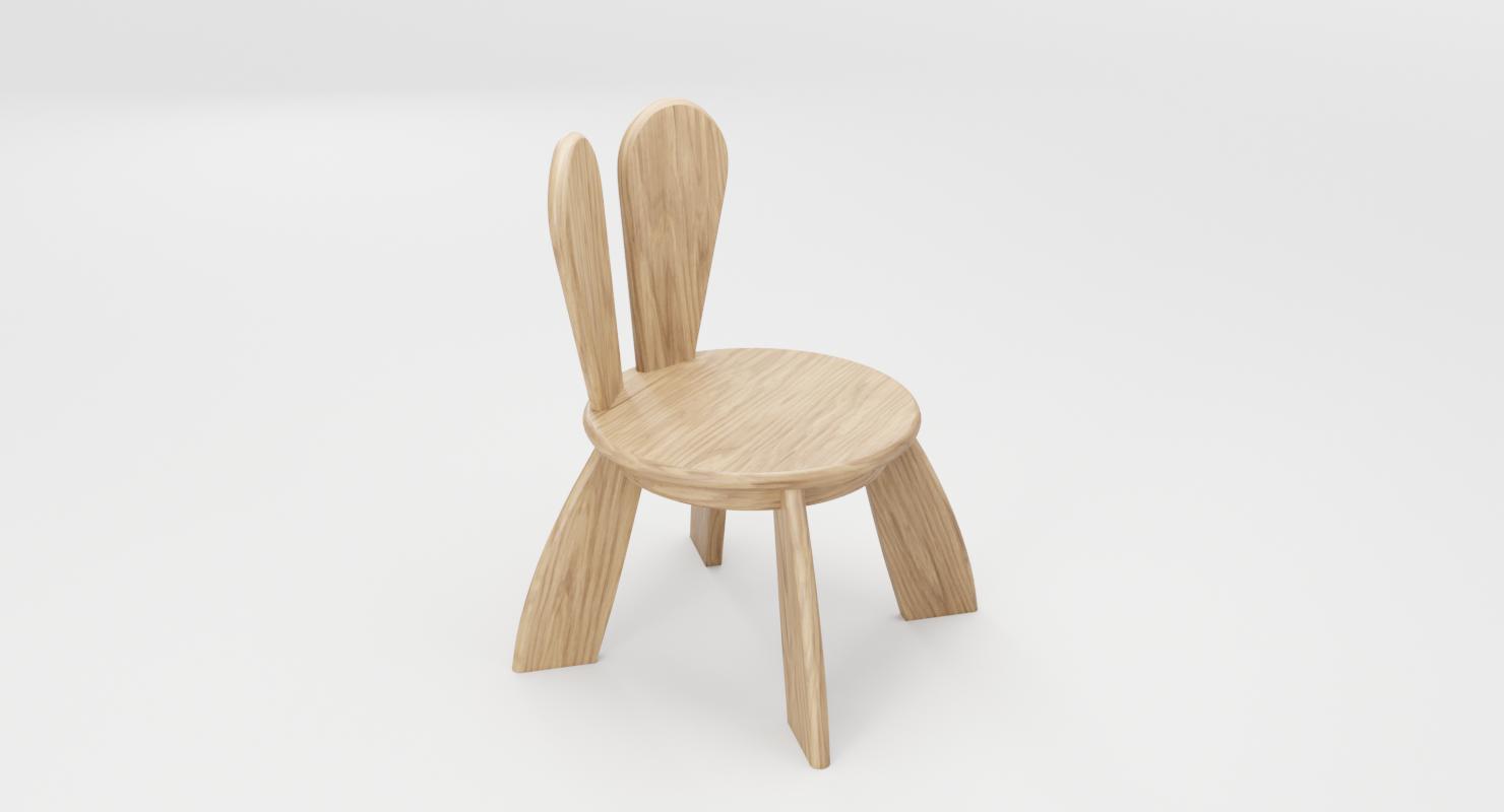 Kid Wooden Minimalistic Chair  Minimalist chair, Chair, Wooden