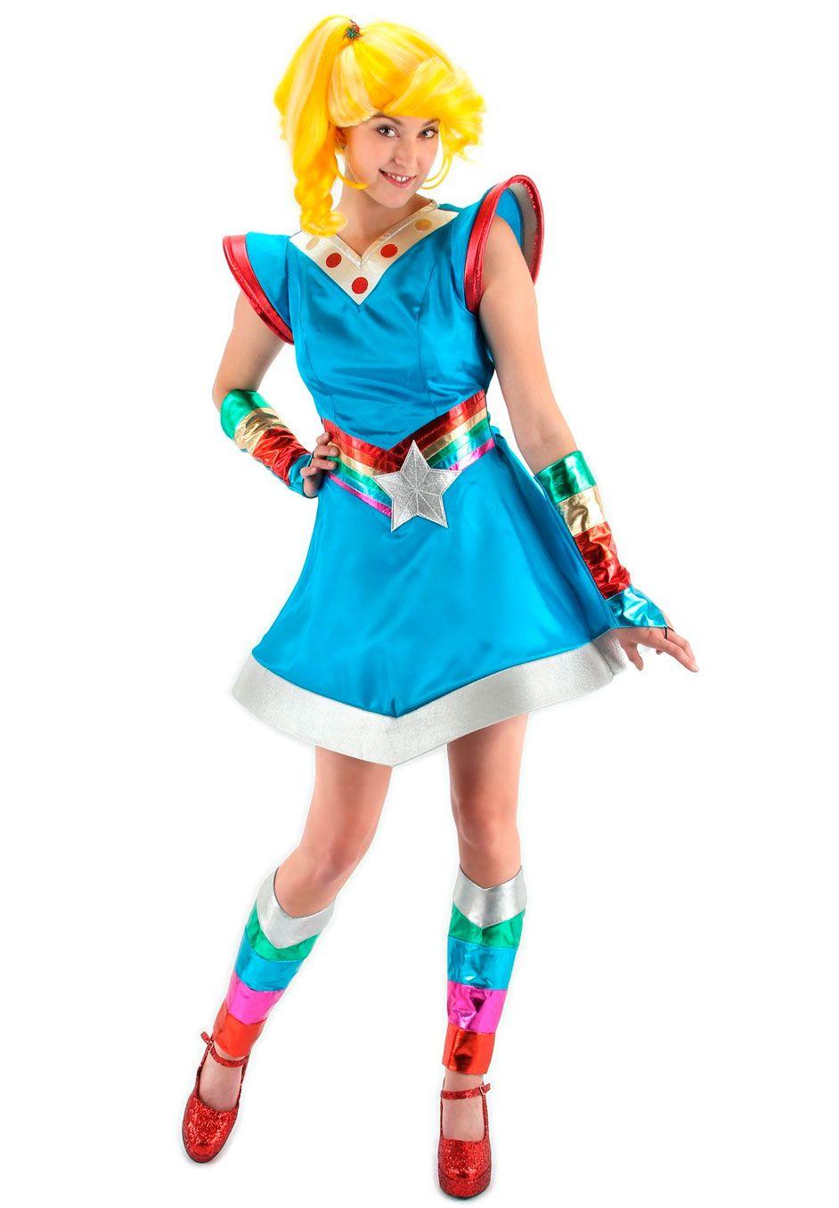 plus size rainbow brite adult costume | plus size plus size