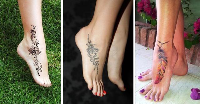 Boskie Tatuaze Na Stopie Kazda Z Pan Zapragnie Podobnych Hit Tattoos Watercolor Tattoo